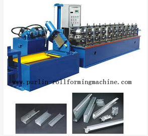 China 20 Forming Stations In Automatic C - Z Changeable Purlin Roll Former 10Mpa - 12Mpa distributor
