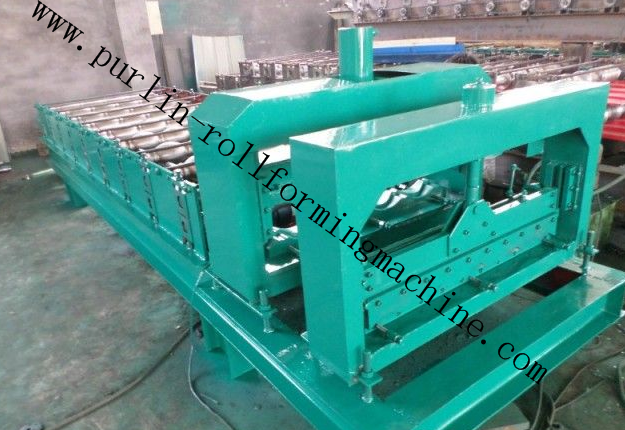 Chain Driven Cold Steel Sheet Roller Machine Corrugated Double Layer PLC