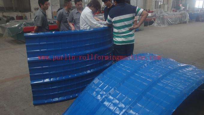 Hydraulic Vertical Type Crimped Curving Machine Arch Bending Machine For Roof Panel