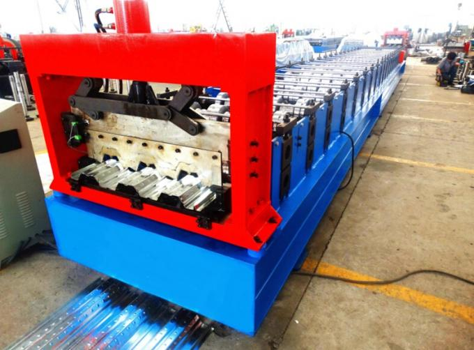 High Speed Metal Deck Roll Forming Enquipment Color Steel With PLC System