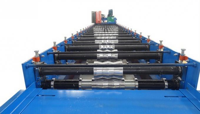 Corrugated Roofing Sheet Roll Forming Equipment Roof Tile Cold Forming Machine
