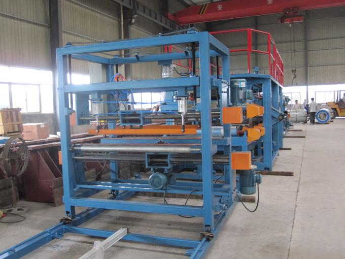 1250mm Width EPS Sandwich Panel Production Line 28Kw for Warehouse