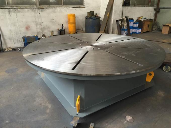Welding Rotary Table With 2200 mm Table To USA Market Rochester, 15 Days Delivery Time
