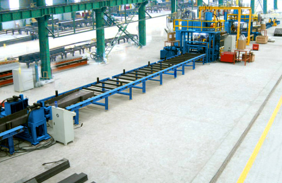 Automatic Welding Machine , H-beam Horizontal Production Line with Lincoln Welding Power