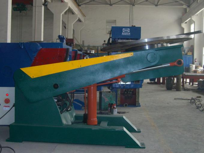 Good Stability Welding Positioner Hydraulic Tilting Lifting 3 Dimensions Control Workpiece Position