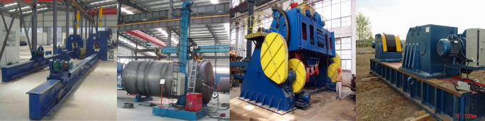 Loading Capacity 2 Tons Welding Rotator For Cylinders Round & Longitudinal Seam